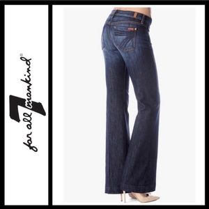 7 For All Mankind | Dojo Dark Wash Flare Jeans